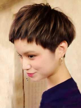 最新のヘアスタイル 妊娠中の髪型 : ... 出展 ベリーショート 妊婦 髪型