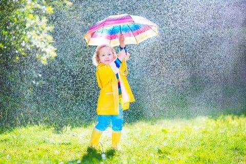 子供 雨 レインコート