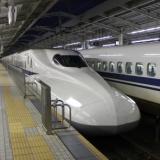 風景 新幹線 乗り物 お出かけ