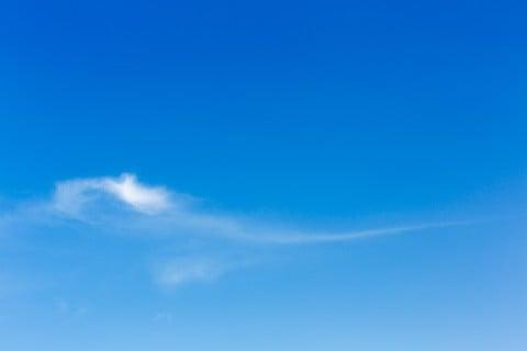 風景 空 雲 快晴