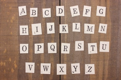 記号 勉強 英語教育 アルファベット