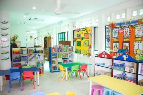 幼稚園で英語居教育