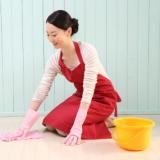 女性 家 掃除 家事 主婦