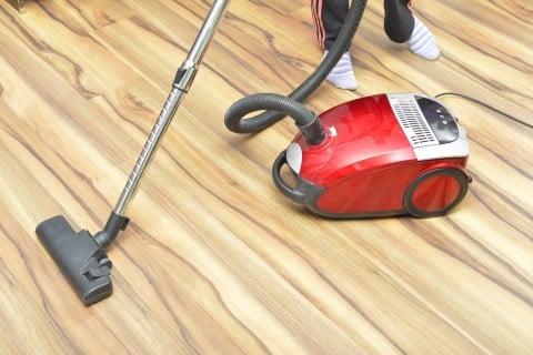 家 掃除 掃除機 床