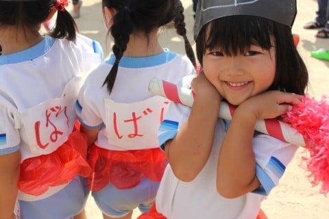 女の子5歳 保育園 お遊戯
