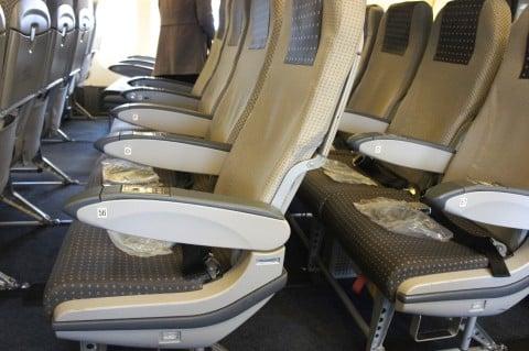 飛行機での席の取り方