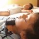 男の子4歳 お昼寝 寝顔 ベッド