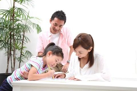パパ ママ 女の子7歳 勉強