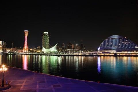 風景 夜景 旅行 川