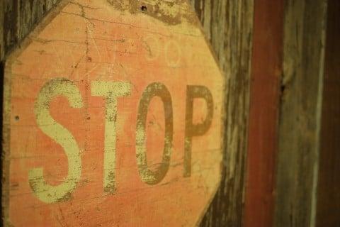 記号 ストップ 看板 標識