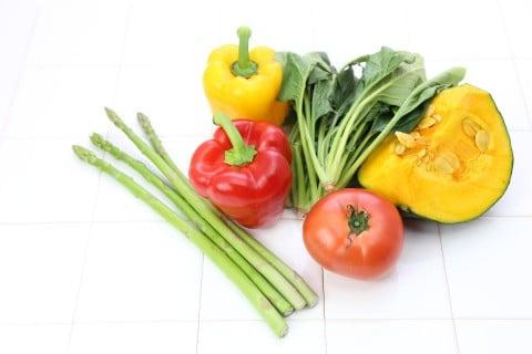 飲食 野菜 栄養 ビタミン