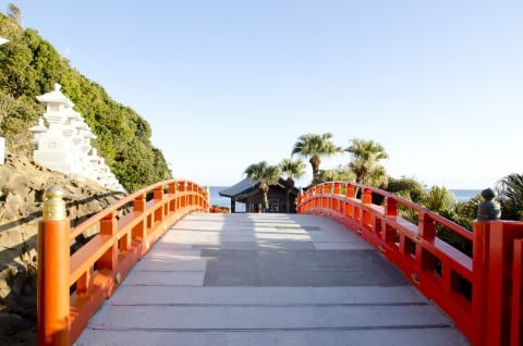 風景 神社 参拝