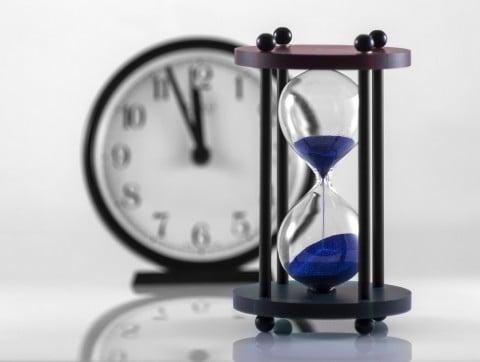 時間 砂時計