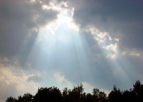 風景 太陽 空