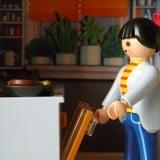 飲食 女性 調理 イメージ