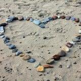 風景 恋愛 砂浜