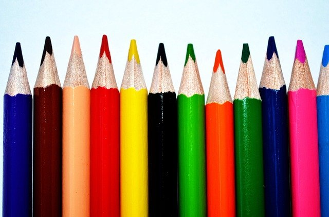 crayon photo