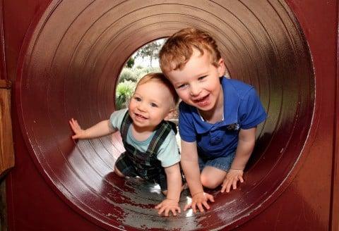 子供 兄弟 写真 男の子3歳 男の子1歳