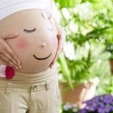 妊娠後期 ペイント 妊婦