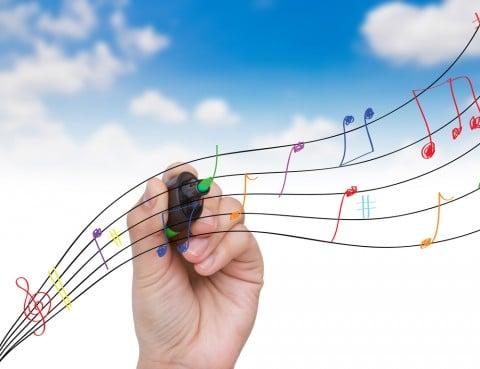 音符 空 音楽 メロディ