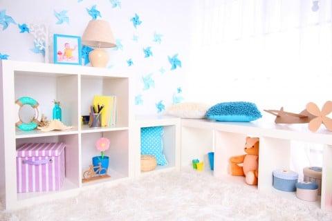赤ちゃん 子供部屋 収納 アイデア