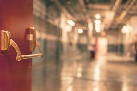 病院 扉 ドア