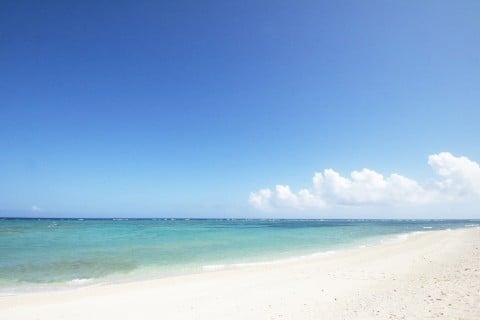 風景 海 砂浜