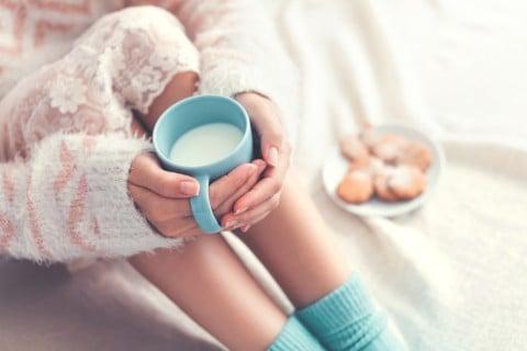 部屋 温まる ミルク