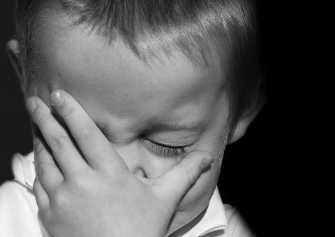 子供 くじける 落ち込む 失敗
