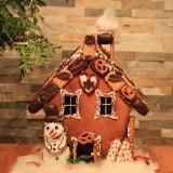 クリスマス プレゼント 飾り お菓子の家