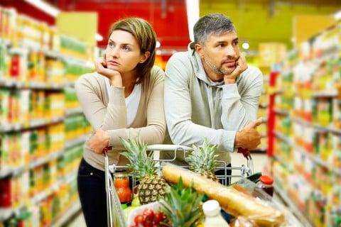 食べ物 カップル 買い物