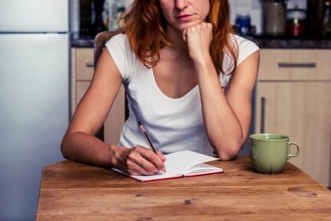 女性 メモ チェック ノート