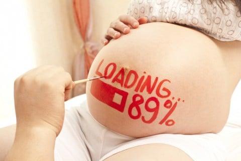 妊娠後期 妊婦