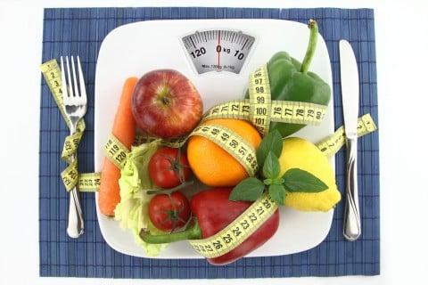 飲食 野菜 メジャー 計測 体重計