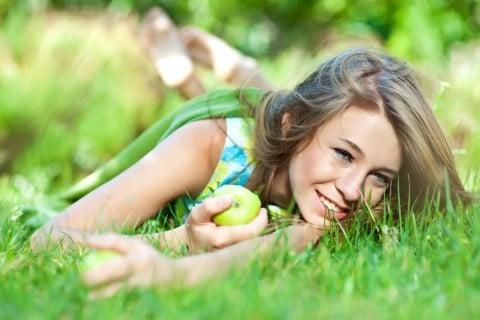 女性 健康 緑 公園