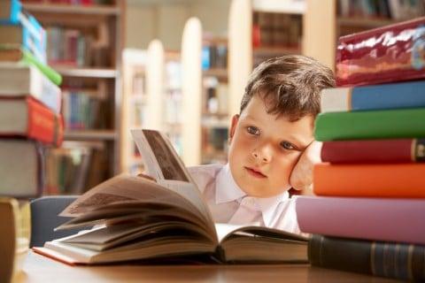 子供 男の子6歳 本 調べる 図書館 勉強