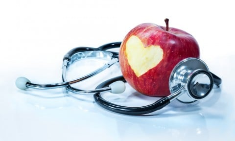 グッズ 聴診器 リンゴ 病院 病気