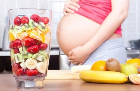 妊婦 妊娠後期 フルーツ ジュース スムージー