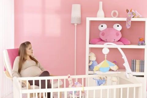 妊娠後期 臨月 妊婦 子供部屋