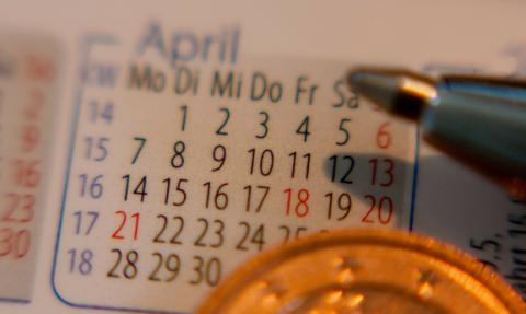 時間 カレンダー 時期