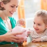 ママ 女の子 子供 お金 貯金