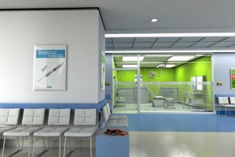 医療 病院 待合室 診察