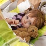 子供 風邪 体温計 熱 病気 ベッド