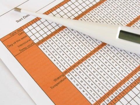 体温計 基礎体温 表