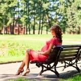 妊婦 公園