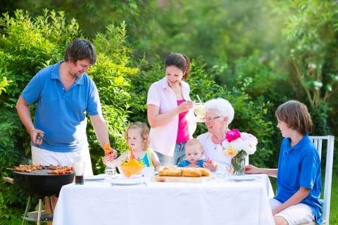 家族 食事 料理