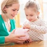 貯金 お金 女の子4歳 ママ
