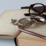 グッズ 羅針盤 ノート コンパス 眼鏡