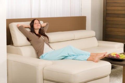 リラックス 女性