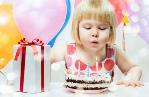 3歳 女の子 誕生日